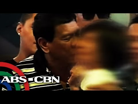 Bandila: Duterte greets women with
