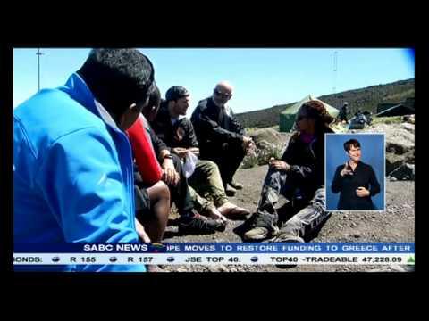 24 hour countdown to summit Mount Kilimanjaro has begun