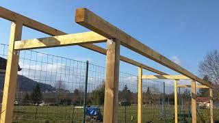 CONSTRUCTION DE MON ABRI A TOMATES