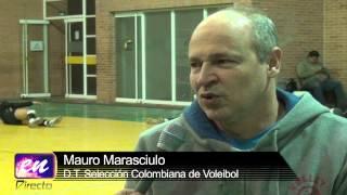 Joven madre de la Selección Colombia de Voleibol se prepara para ir al mundial