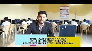 Ajay Chavan's Live Review of DTPP program...