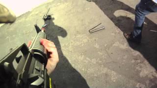 Airsoft GI - Bob smashed an Airsoft Gun