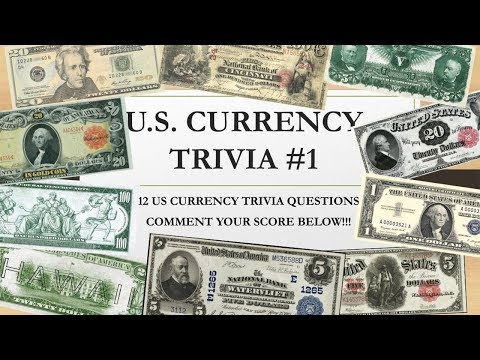 US Currency Quiz & Information - US Paper Money Trivia #1