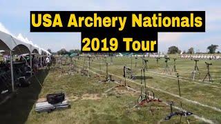 USA Archery Nationals Tournament Tour In Dublin Ohio
