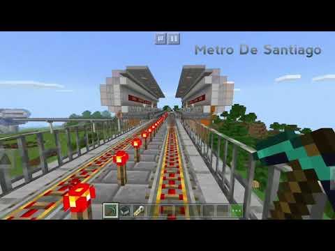 METRO DE SANTIAGO DE CHILE Linea 1(Adaptacion) //Minecraft-Version 1.4