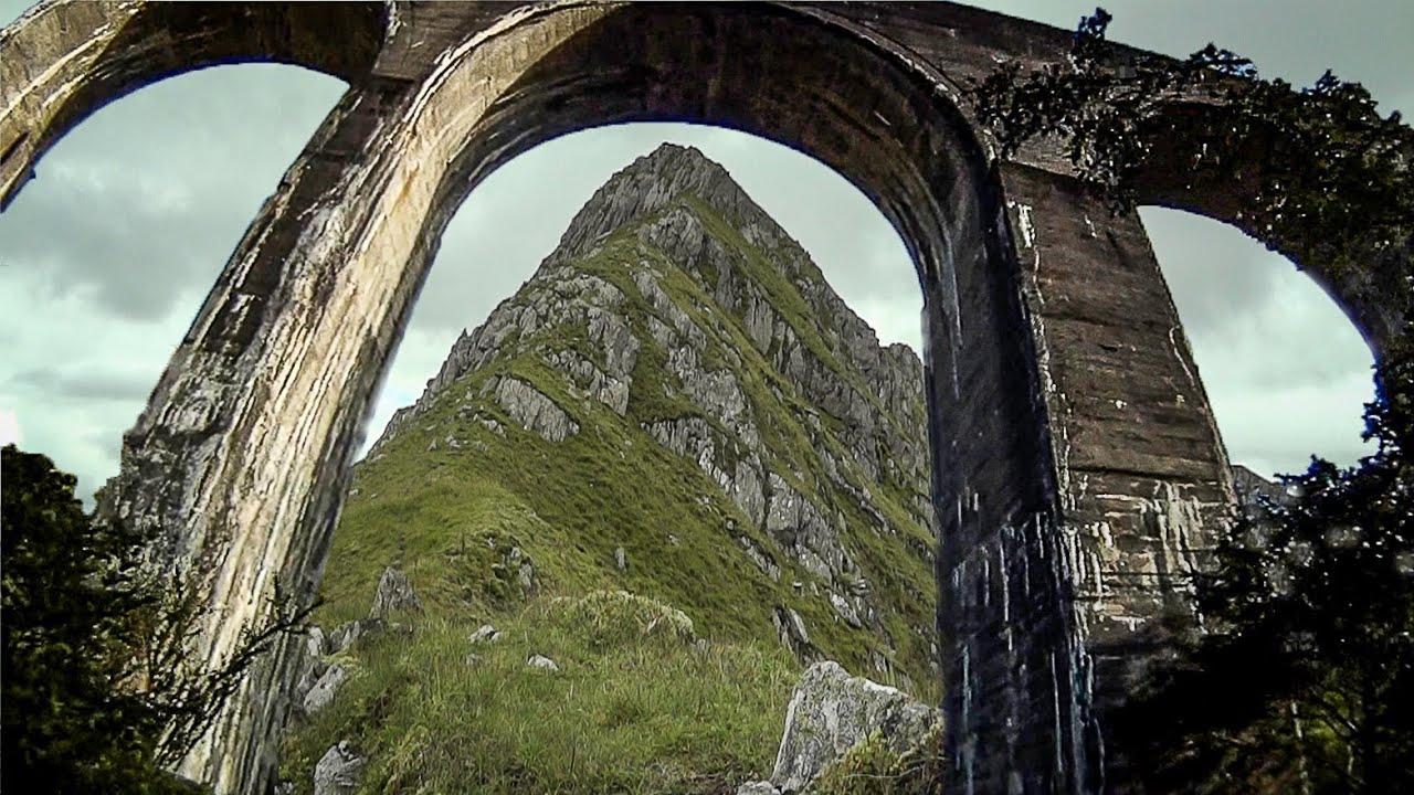 Beyond Glenfinnan - through the Viaduct ...