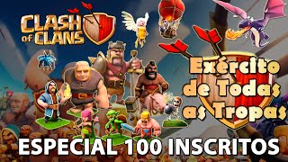 [ESPECIAL] Clash of Clans HD Parte 28 - Centro de Vila 7: Ataque com Todas as Tropas!