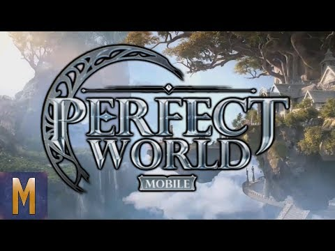 BEAUTIFUL MMO! Perfect World Mobile - First Impressions & Gameplay!