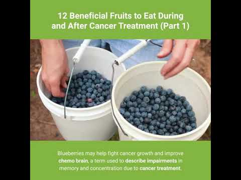 12 Beneficial Fruits To Eat During And After Cancer Treatment (Part 1)-Good Foods For Health