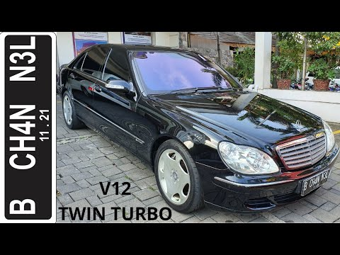 In Depth Tour Mercedes Benz S600 [W220] Facelift (2003) - Indonesia