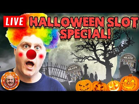 ? FINALLY! ? LIVE Halloween Slot Special! ? - 동영상