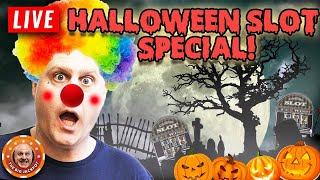 🎃 FINALLY! 🎃 LIVE Halloween Slot Special! 😱