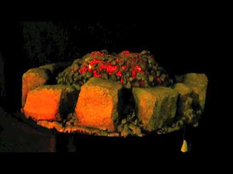 Faux Cauldron Fire Pit Prop - YouTube
