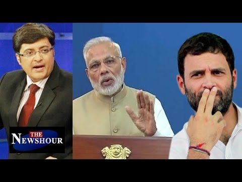 Rahul Gandhi AGAINST PM Modi's Game Changer Move: The Newshour Debate (8th Nov)