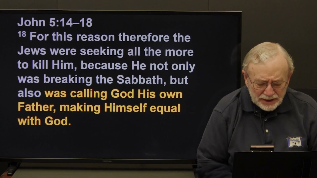 The Jewish Life of the Messiah (2021) — Session 14