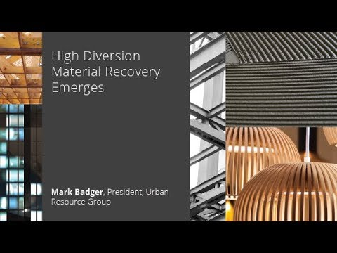 High Diversion Material Recovery Emerges
