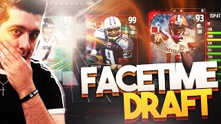 FACETIME A FRIEND!!! SPIN THE WHEEL DRAFT CHAMPIONS! MADDEN 17