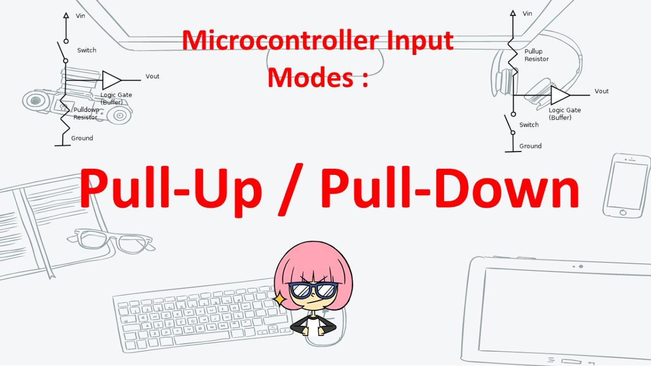 Pull - Up / Pull - Down Configuration (Microcontroller Input Mode)