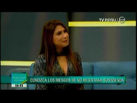 TV Perú - Entrevista a Manuel Montes Boza, Superintendente Nacional de los Registros Públicos