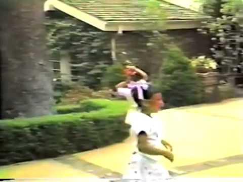 Kim And Kourtney Kardashian Childhood Home Video