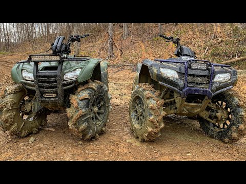 """35% Gear Reduction Testing and One Bad IRS Honda Rancher on 30"""" Bkts"""