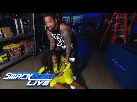 Naomi attacks Mandy Rose: SmackDown LIVE, Jan. 8, 2019