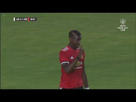Paul Pogba vs LA Galaxy (A) 17/18