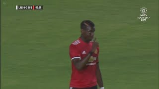 Paul Pogba vs LA Galaxy (A) 17/18