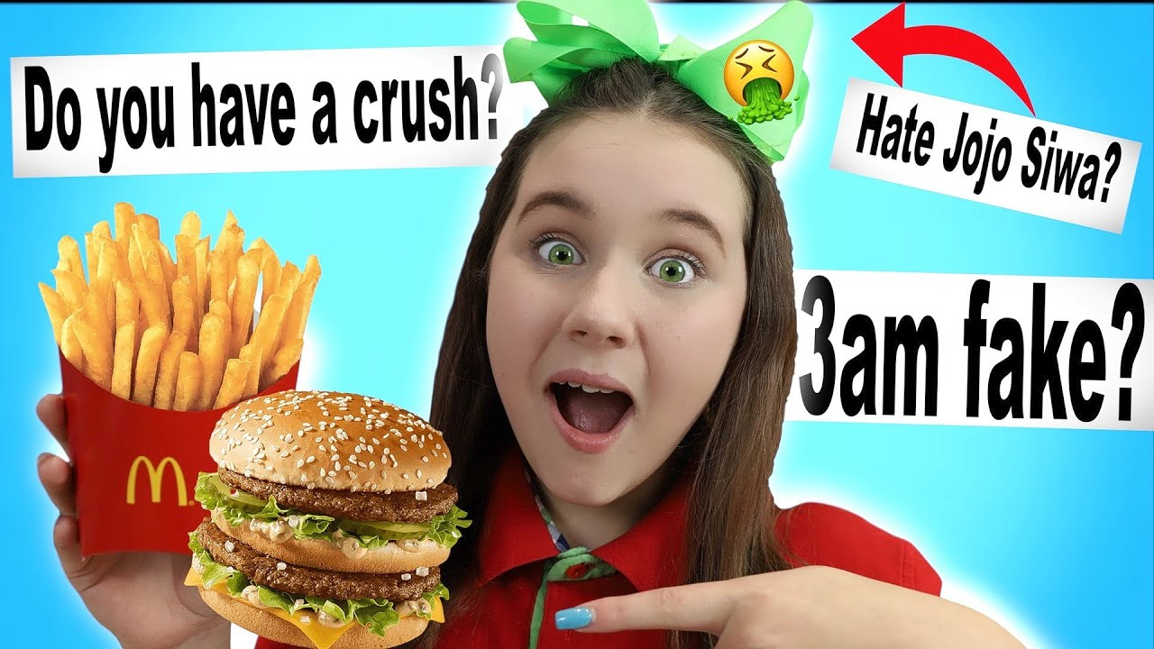 McDonalds Mukbang lol.. Answering your questions from Tik Tok and more
