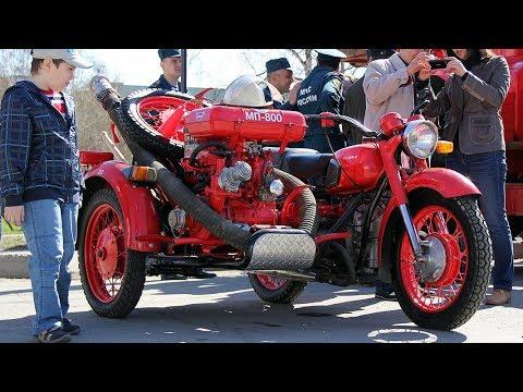 Днепр 156 П - пожарный мотоцикл