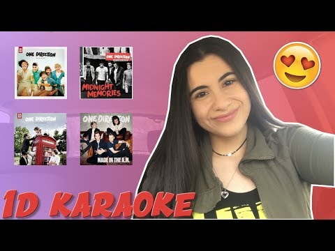 ONE DIRECTION CARPOOL KARAOKE | Just Sharon