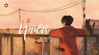 Lirik lagu Nadir - Fiersa Besari cover by Billy Joe Ava by Tumblr Lyrics