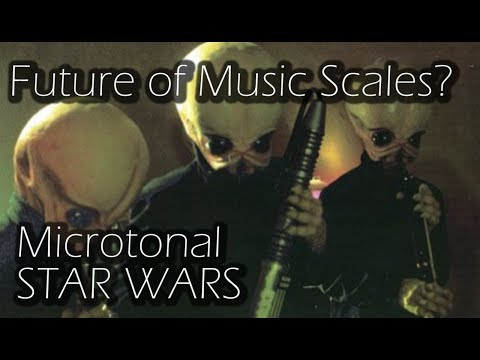 Is This the Future of Music Scales? - Microtonal Star Wars