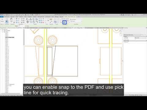 Revit 2020: PDF Into Revit - YouTube