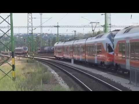 Trains in Hungary 2016 - Hungarian Railways [Hungarian State Railways]