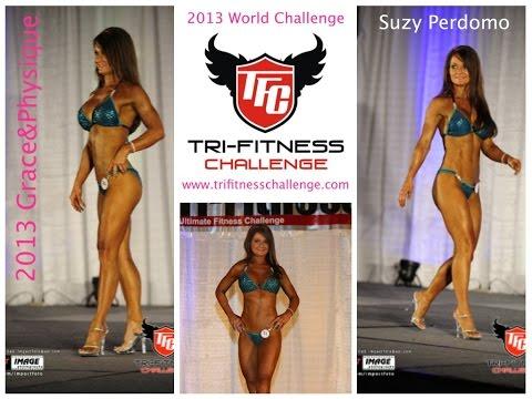 Suzy Perdomo Dazzles In Grace & Physique Tri-Fitness World Challenge 2014