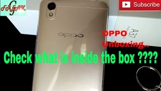 Oppo A37f unboxing | Oppo a37f unboxing india