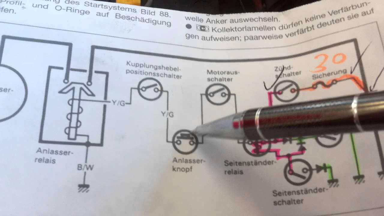 Ziemlich Suzuki Bandit Schaltplan Zeitgenössisch - Elektrische ...