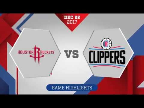 Los Angeles Clippers vs. Houston Rockets - December 22, 2017