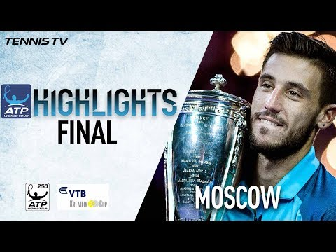 Final Highlights: Dzumhur Beats Berankis At Moscow 2017