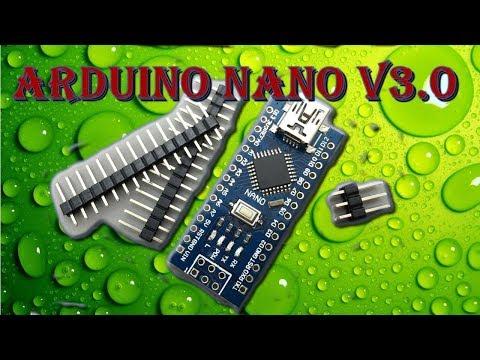 Arduino Nano 3.0 ( CH340G )Установка драйвера.Программирование