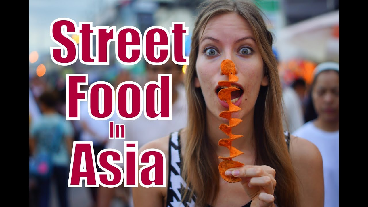 Asian street meat trailer