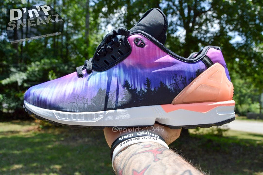 Adidas Zx Flux Decon Northern Lights
