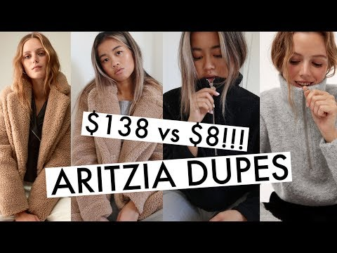$138 vs. $8?! ARITZIA DUPES 2018 | Affordable Fall Clothes