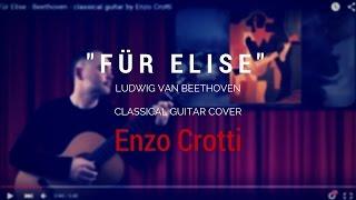 Für Elise - Beethoven - (Enzo Crotti, Classical Guitar 432 Hz) - Per Elisa