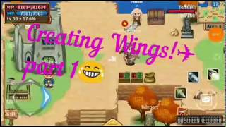 Knight age online Global Server #Wings Part 1