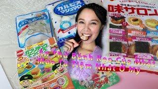 Trải Nghiệm Ăn Thử Bánh Kẹo Nhật Mua Từ 1 Cửa Hàng Của Nhật Tại Mỹ II
