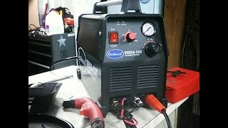 Budget 40 Amp Plasma Cutter- Unboxing/ Mini Review 50 Subscriber give away maybe?!