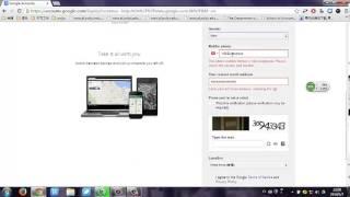 Gmail 1: Create google account