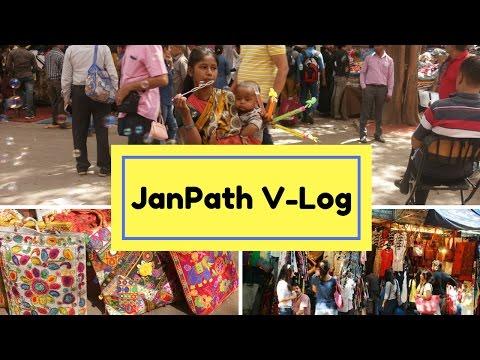 Vlog - Janpath Market CP Cheap Clothes, Accessories, Bags |Janpath Market Delhi|Shopping Guide|